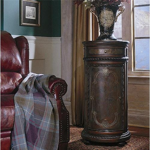 Hamilton Home Seven Seas Tall Round Accent Cabinet