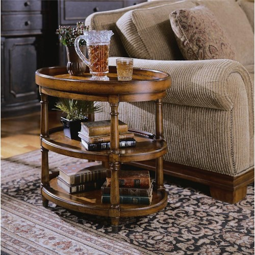 Hamilton Home Seven Seas Oval Accent Table