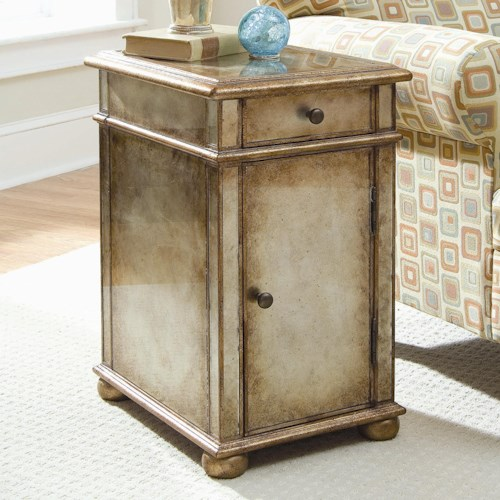 Hamilton Home Seven Seas Antique Mirror End Table