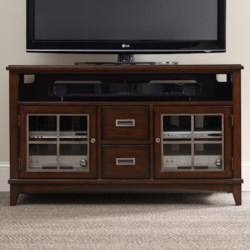 Hooker Furniture Latitude Entertainment Console with 2 Doors