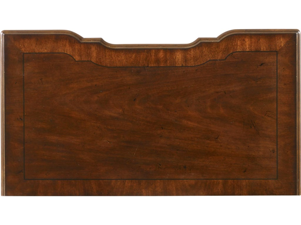 Detail Shot of Bachelor's Chest Cabinet Top