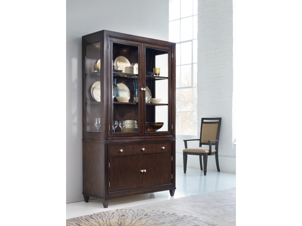 Shown with Bunching China Cabinet