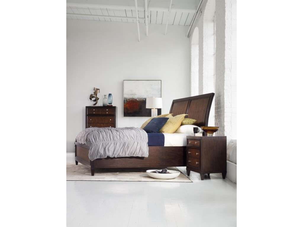 Shown with Sleigh Platform Bed & Chest