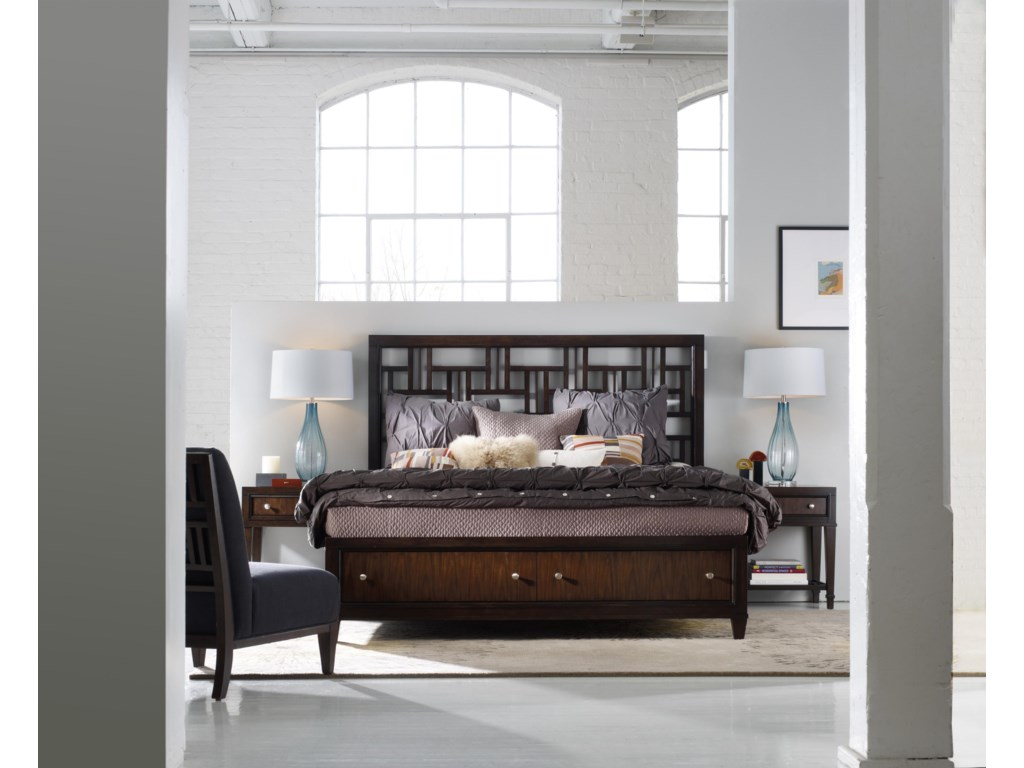 Shown with Leg Nightstands and Accent Chair