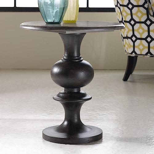 Hooker Furniture Mélange Hadley Round Top Pedestal Table