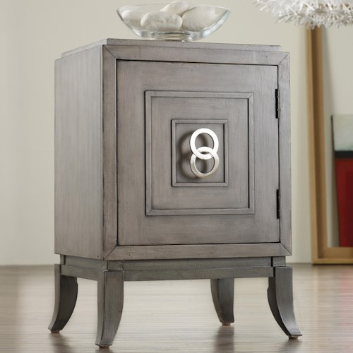 Hooker Furniture Mélange Easton Chairside Door Chest