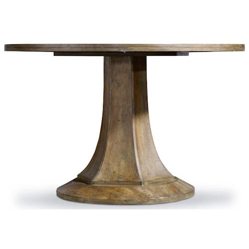 Hooker Furniture Mélange Barrett Round Dining Table