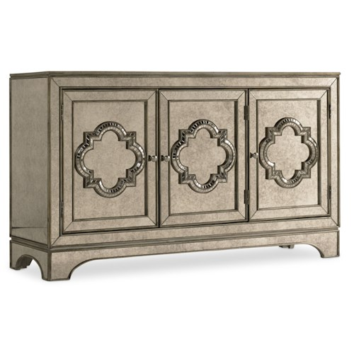 Hooker Furniture Mélange City Lights Antique Mirror Console