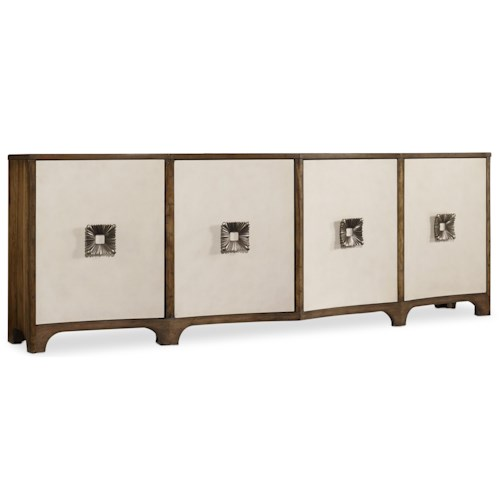 Hooker Furniture Mélange Credenza with 4 Doors