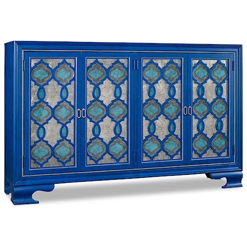 Hooker Furniture Mélange Etcetera Credenza with 4 Doors
