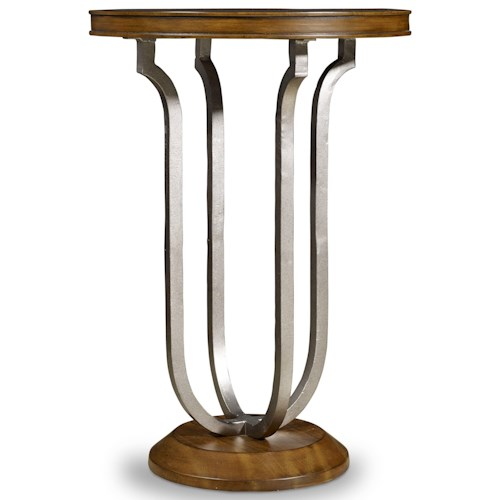 Hooker Furniture Retropolitan Martini Table with Round Top