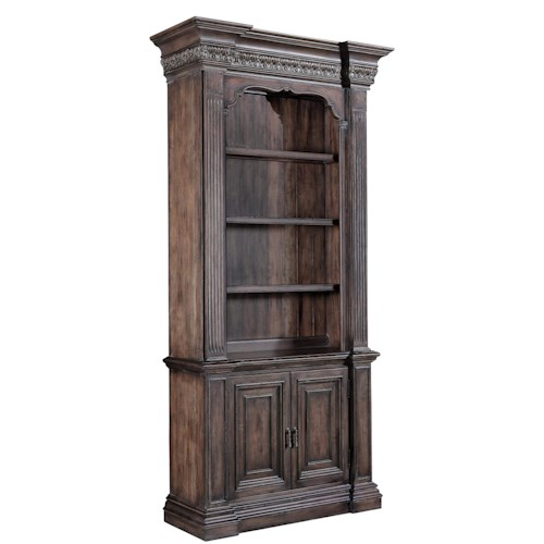 Hooker Furniture Rhapsody Single Bookcase with Touch Lighting