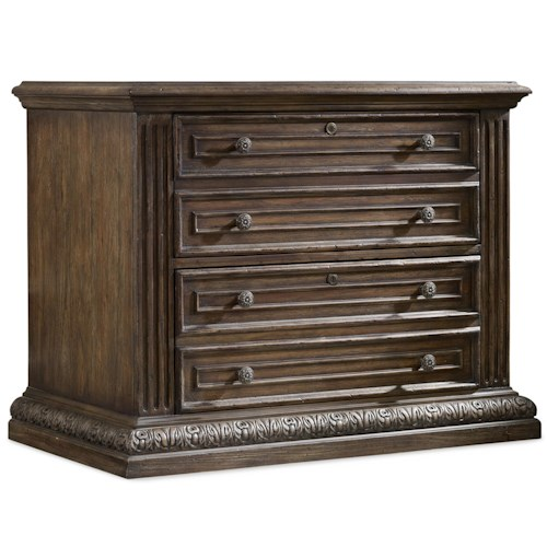 Hooker Furniture Rhapsody Two-Drawer Locking Lateral File