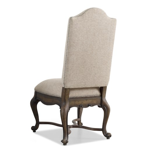 Hooker Furniture Rhapsody Upholstered Side Chair with Nailhead Trim