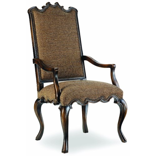 Hooker Furniture Sanctuary Exposed Wood Canterbury Arm Chair