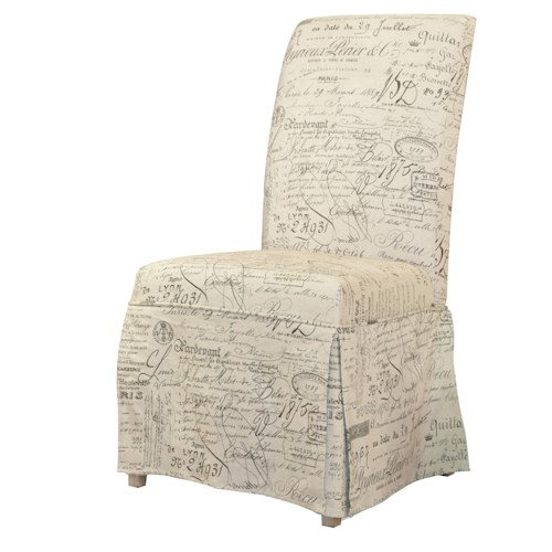 Hooker Furniture Sanctuary Clarice Skirted Chair