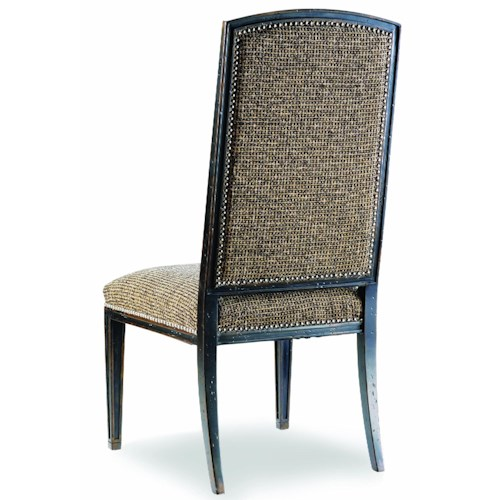 Hooker Furniture Sanctuary Mirage Side Chair with Nail Head Trim