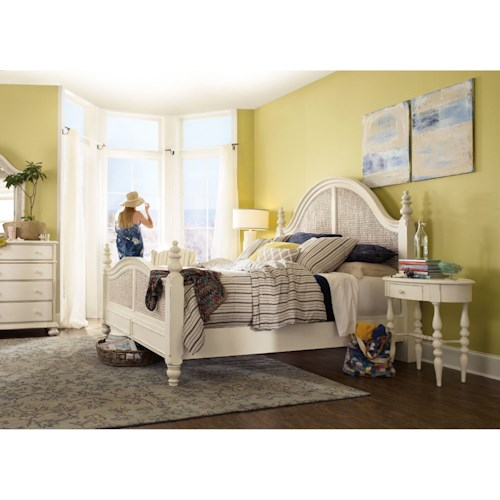 Hooker Furniture Sandcastle King Bedroom Group