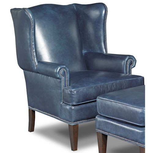 Hooker Furniture Club Chairs Traditional Wing Back Club Chair