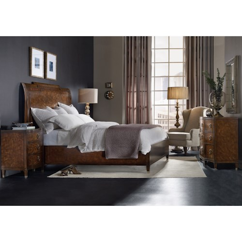 Hooker Furniture Skyline King Bedroom Group