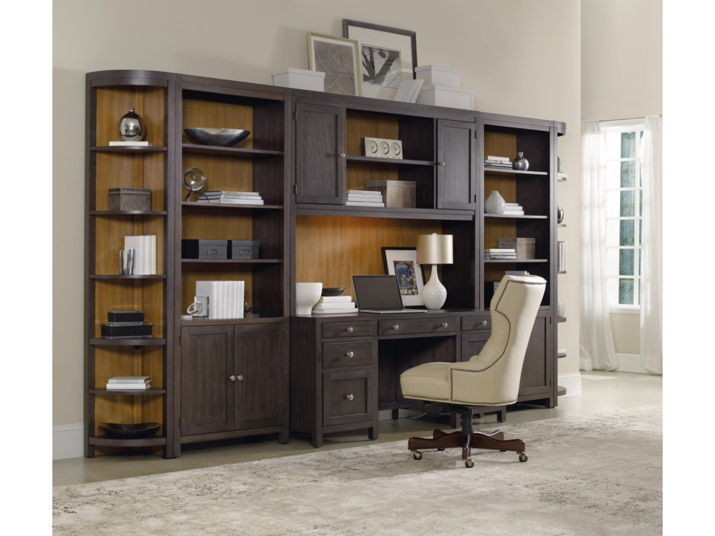 Shown as Part of Credenza Wall Unit
