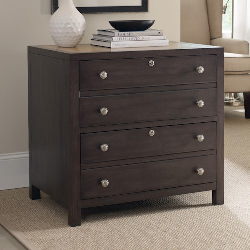 Hooker Furniture South Park Lateral File Cabinet with 2 Locking Drawers