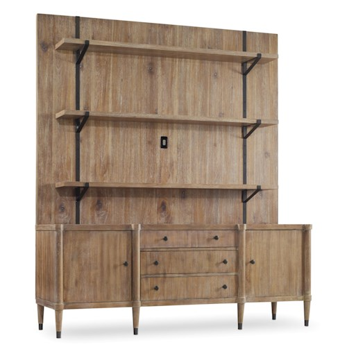 Hooker Furniture Studio 7H Vennesla Multifunctional Credenza/Entertainment Unit