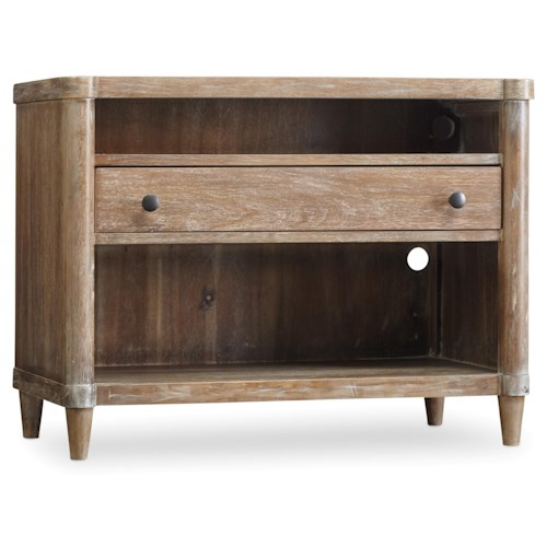 Hooker Furniture Studio 7H Elin Nightstand with Electrical Outlets