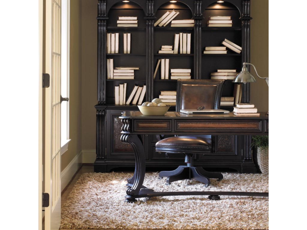 Shown with Executive Chair and Bookcase