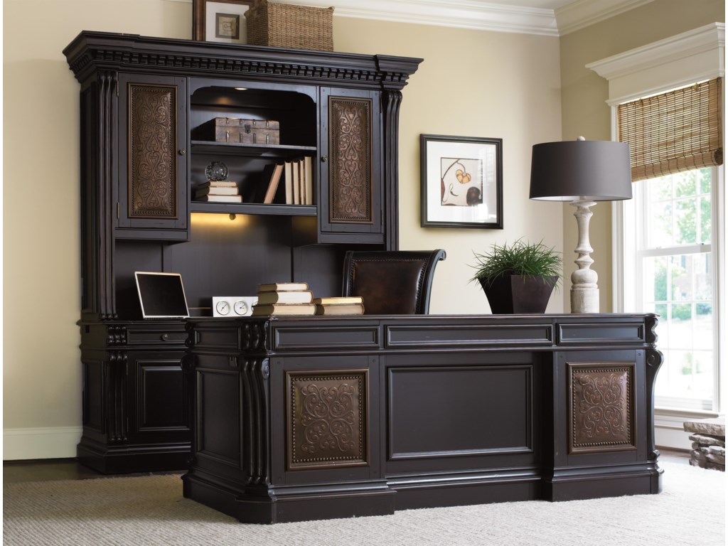 Shown with Credenza Hutch, Executive Desk and Tilt Swivel Chair