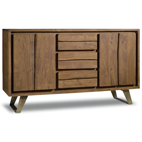 Hooker Furniture Transcend 3 Drawer Buffet with Two Doors
