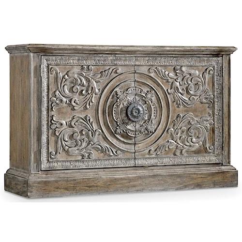 Hooker Furniture True Vintage True Vintage Cabinet with Adjustable Shelf