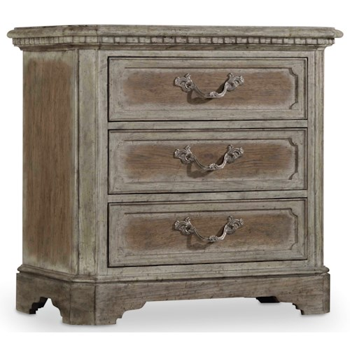 Hooker Furniture True Vintage Nightstand with Outlet