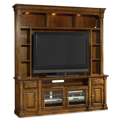 Hooker Furniture Tynecastle Two Piece Entertainment Group