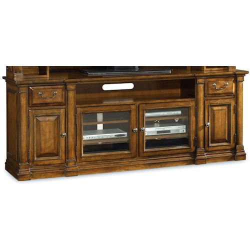 Hooker Furniture Tynecastle Traditional 84 Inch Entertainment Console