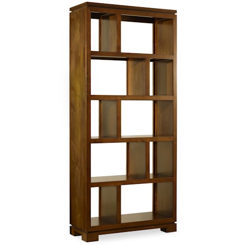 Hooker Furniture Viewpoint   Room Divider with 10 Storage Compartments