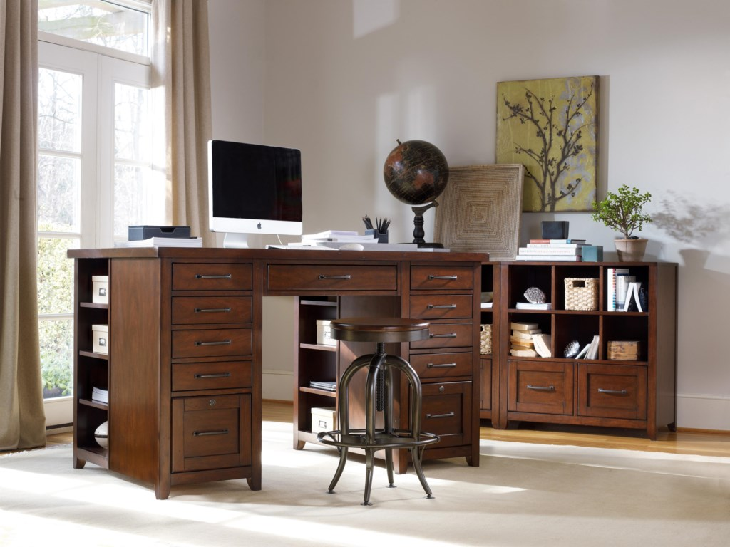 Shown with Utility Bookcase Pedestals and Screw Lift Stool