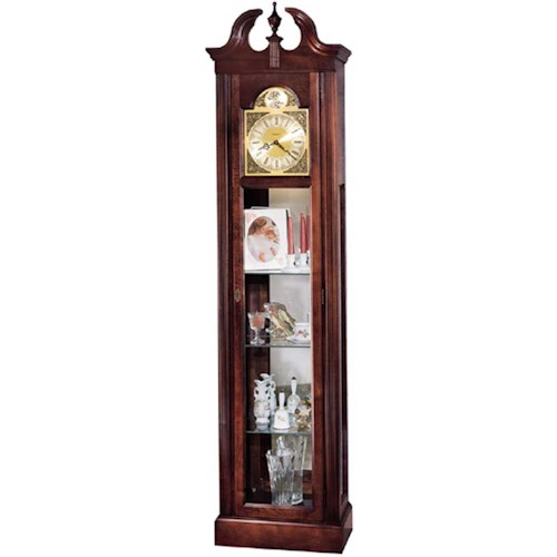 Howard Miller Clocks Cherish Curio Floor Clock