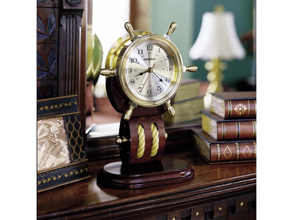 Table Clock Shown in Room Setting