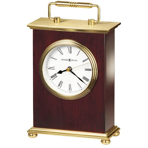 Howard Miller 613 Rosewood Bracket Table Clock
