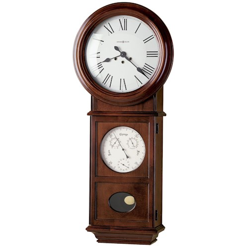 Howard Miller 620 Lawyer II Wall Clock