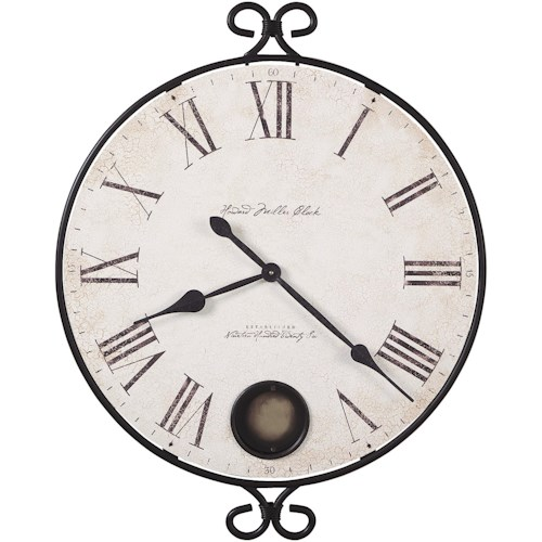 Howard Miller 625 Series Magalen 25-Inch Wall Clock