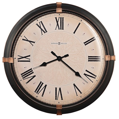 Howard Miller Wall Clocks Atwater Roman Numeral Wall Clock