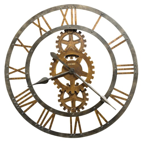 Howard Miller Wall Clocks Crosby Metal Wall Clock