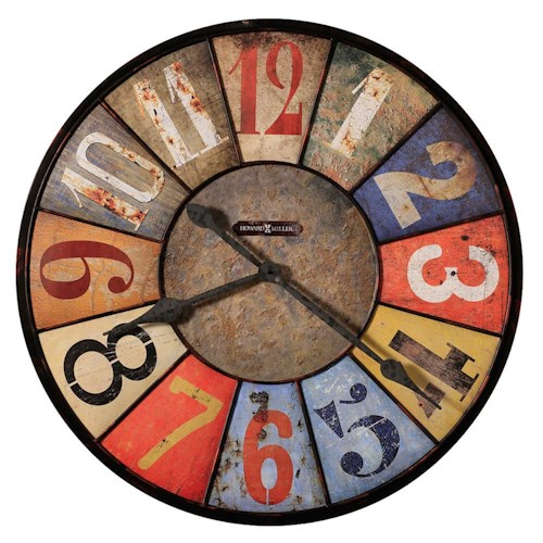 Howard Miller 625 Series Country Line Wall Clock