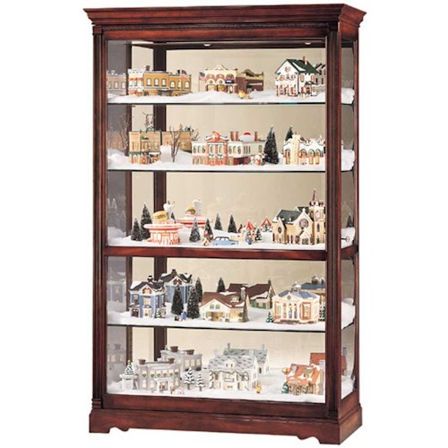 Howard Miller Cabinets Townsend Collectors Cabinet