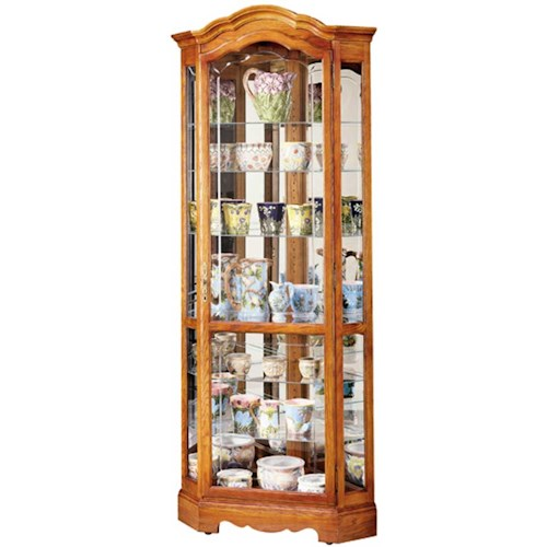 Howard Miller Cabinets Jamestown II Collectors Cabinet