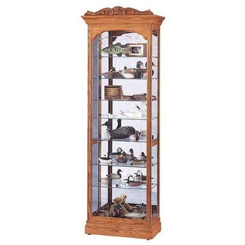 Howard Miller Cabinets Cumberland Collectors Cabinet