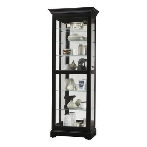Morris Home Furnishings Harmony Sliding Door Curio Cabinet