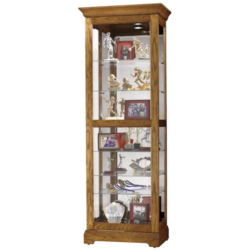 Howard Miller Furniture Trend Designs Curios Moorland Display Cabinet